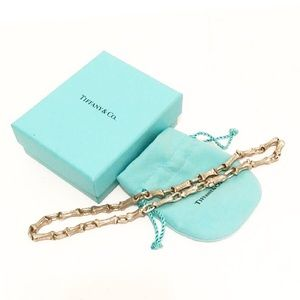 Authentic Tiffany Fragmented Bamboo Necklace
